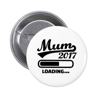 Mum 2017 2 inch round button