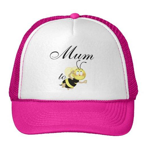 Mum 2 be mesh hats
