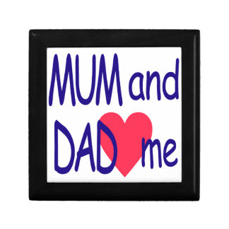 Mum and dad me, mom gift box