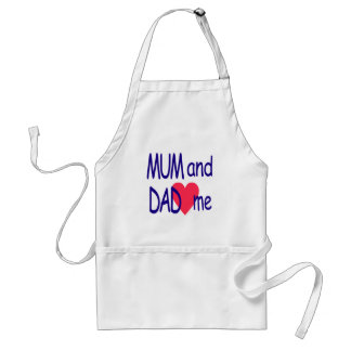 Mum and dad me, mom standard apron