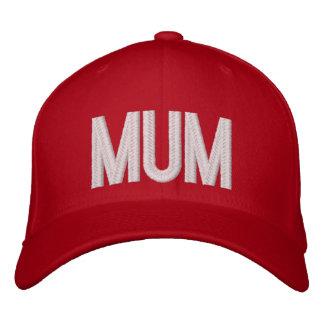 Mum Embroidered Baseball Caps