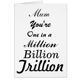 Mum in a Trillion Card