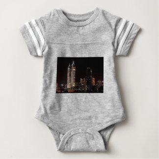 Mumbai India Skyline Baby Bodysuit