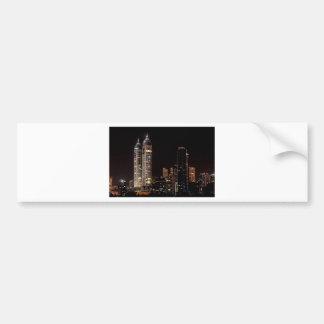 Mumbai India Skyline Bumper Sticker