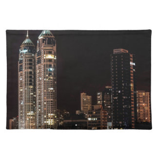 Mumbai India Skyline Placemat