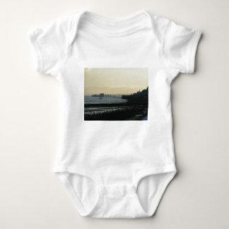 Mumbles Pier Baby Bodysuit