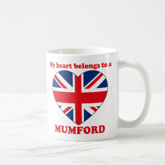 Mumford Classic White Coffee Mug