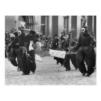 Mummers Parade, Philadelphia, 1909 Postcard
