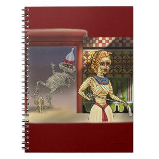 Mummific and Mrs Spiral Notebooks