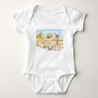 Mummific Egypt Baby Bodysuit