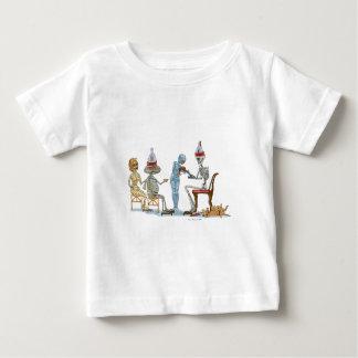 Mummific Skeleton Dinner Baby T-Shirt