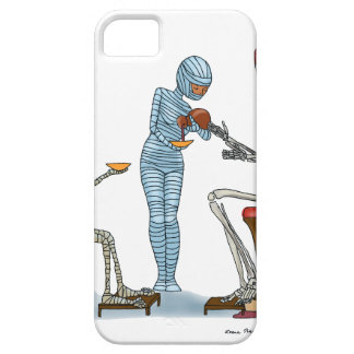 Mummific Skeleton Dinner Case For The iPhone 5