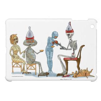 Mummific Skeleton Dinner Cover For The iPad Mini