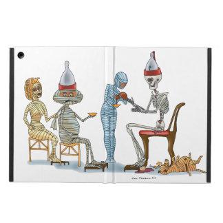Mummific Skeleton Dinner iPad Air Cases