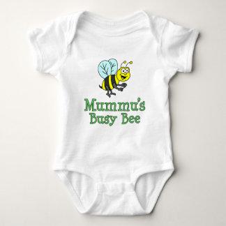 Mummu's Busy Bee Baby Bodysuit