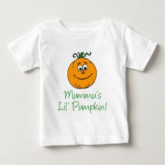 Mummu's Little Pumpkin Baby T-Shirt