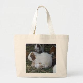 Mummy_And_Baby_Guinea_Pig Jumbo Tote Bag