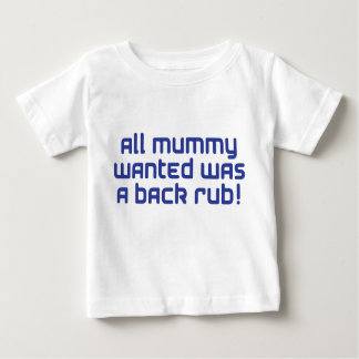 mummy blue baby T-Shirt