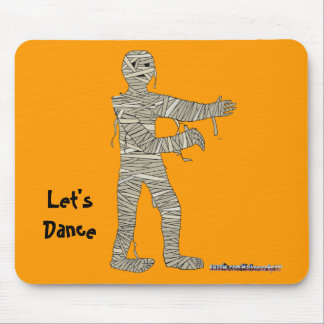 Mummy Dead Man Walking old bandages Mouse Pad