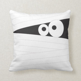 mummy halloween throw pillow, accent room decor throw pillow
