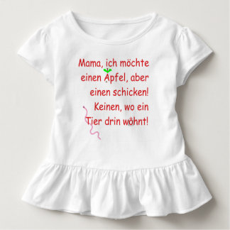 Mummy, I would like to send an apple, but one! Toddler T-shirt