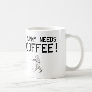 Mummy Needs Coffee Coffee Mug