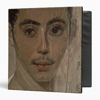 Mummy Portrait of a Boy with an Injured Eye, from Binder