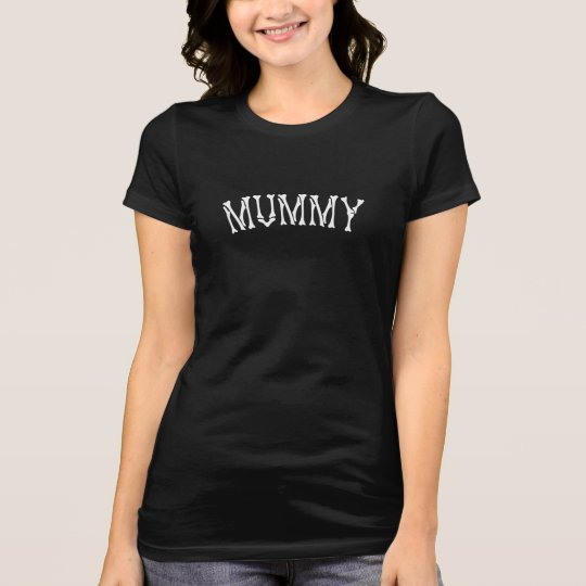 Mummy t-shirt perfect for Halloween costume or fun