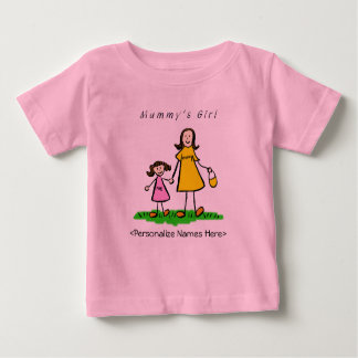 Mummy's Girl - Brunette Mother & Daughter Shirt