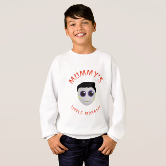 Mummy's Little Monster Kids' Sweatshirt