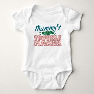 Mummy's Little Troublemaker Baby Bodysuit