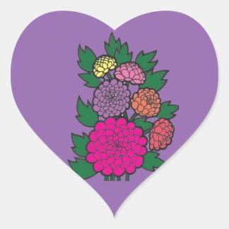 Mums Heart Sticker