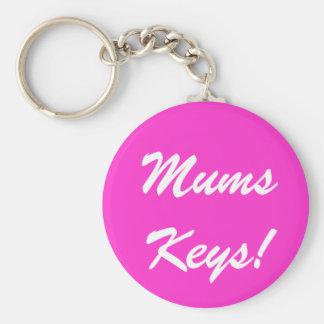 Mums Keys! Keychain