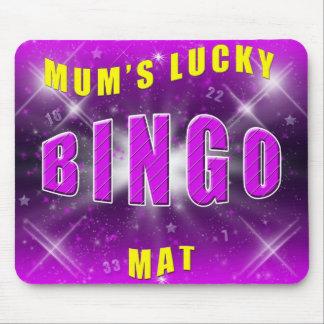 mum's lucky bingo mat mouse pads