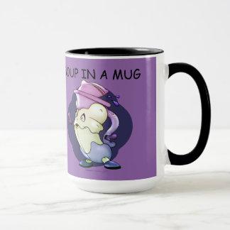 MUN RUN ALIEN MONSTER 15oz Ringer Mug 2
