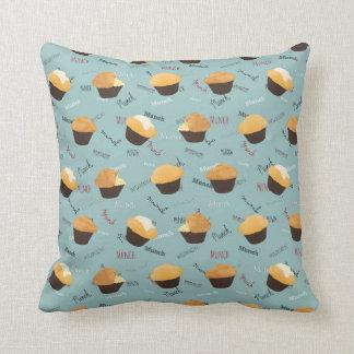 Munch My Muffin Accent Pillow