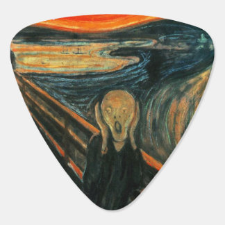 Munch The Scream Guitar Pick