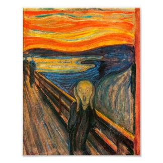 Munch The Scream Print Photo Art