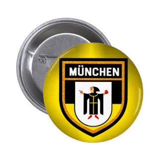 München Flag 2 Inch Round Button
