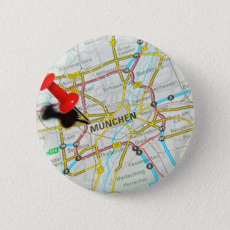 Munchen (Munich), Germany 2 Inch Round Button