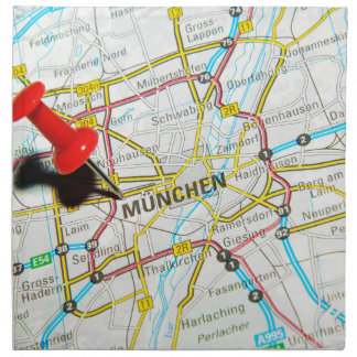 Munchen (Munich), Germany Napkin