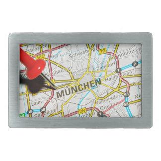 Munchen (Munich), Germany Rectangular Belt Buckle