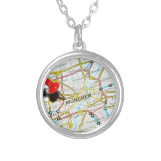 Munchen (Munich), Germany Silver Plated Necklace