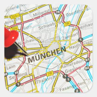 Munchen (Munich), Germany Square Sticker