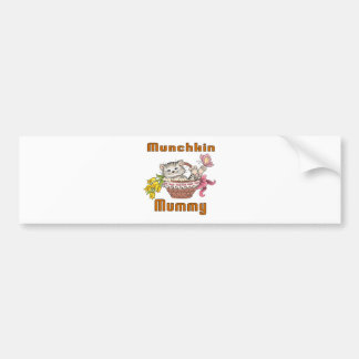 Munchkin Cat Mom Bumper Sticker