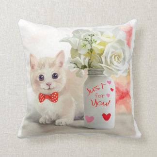 Munchkin congratulates on his birthday throw pillow