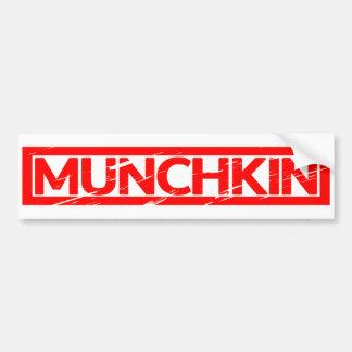 Munchkin Stamp Bumper Sticker