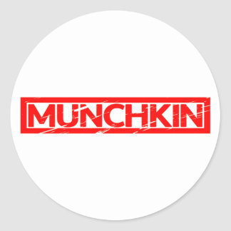 Munchkin Stamp Classic Round Sticker