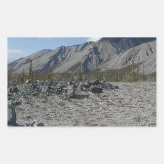 Muncho Lake, Yukon, Canada Sticker