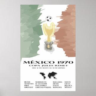Mundial Mexico 70 Poster
